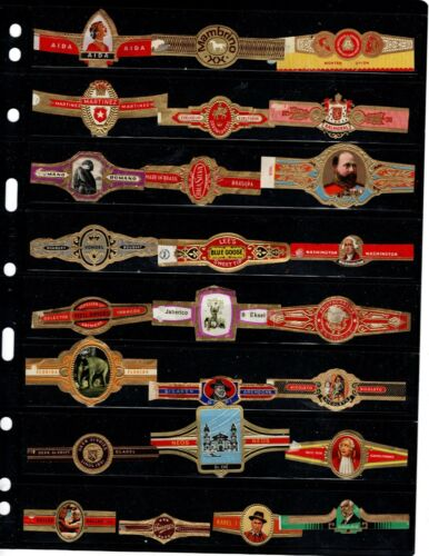 CIGAR BANDS..    .. ALL DIFFERENT ( OFFER (0029)*