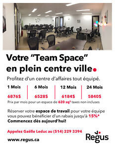 REGUS Team Space en plein centre ville 620p2