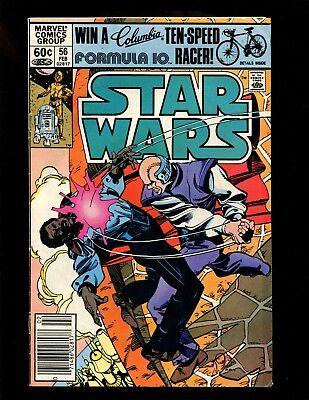 Star Wars #56 (Newsstand) FN Simonson 1st Shira Brie (Lumiya) Lando Calrissian