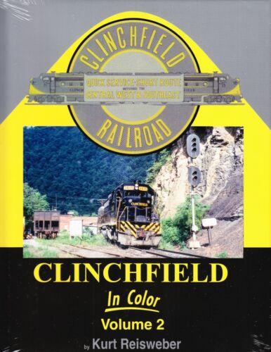 Morning Sun Railroad Books, Clinchfield In Color Volume 2