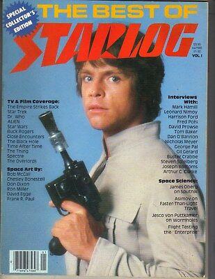 MARK HAMILL Best of Starlog Magazine 1980 HARRISON FORD STEVEN