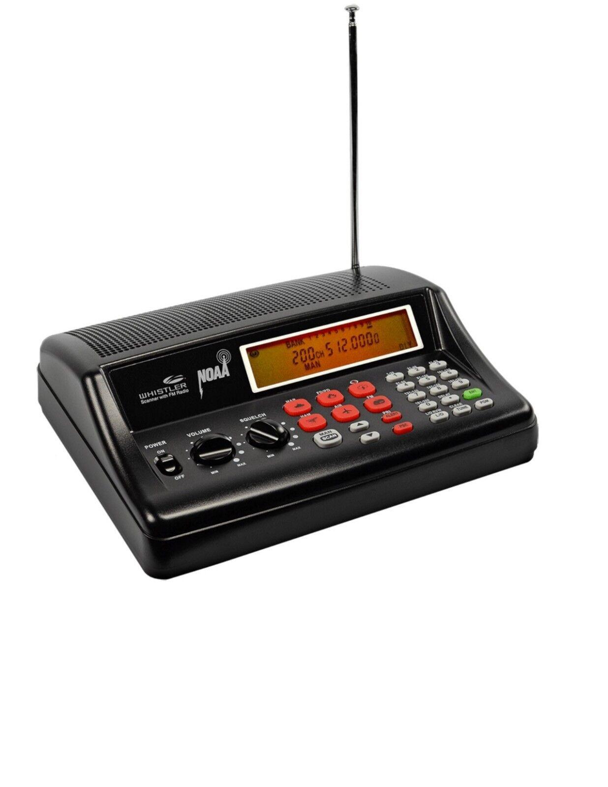 WHISTLER WS1025 Analog Desktop Radio Scanner