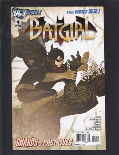 Batgirl #4 2011 4th Series! Adam Hughes Cover! Shards of Past Lives!
