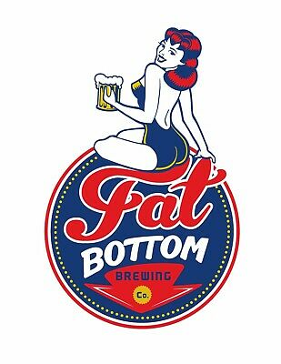 Fat Bottom Brewing Company STICKER Decal Beer Micro Nashville Tennessee TN
