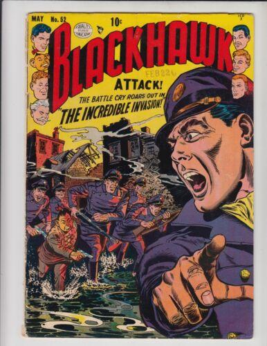 BLACKHAWK #52 VG-