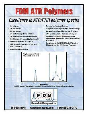 Atrftir Polymer Library Diamond Crystal