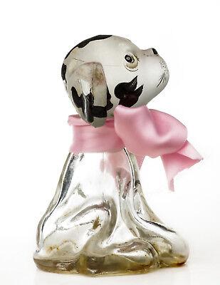 Jovoy Allez...Hop! Vintage Figural Commercial Perfume Bottle Allez Hop Glass