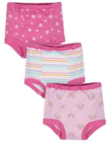 Gerber Girls Toddler Training Pants Pink  ~ Size 3T ~ Dark Pink