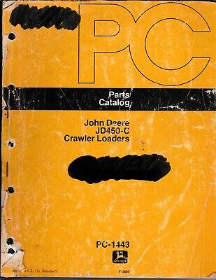 John Deere Jd450c Crawler Loaders Parts Manual