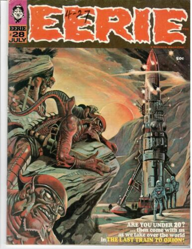 Eerie #28 Fine Warren Magazine