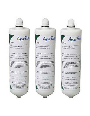 3-Assembly Aquapure AP431 Original  3M Cuno Scale Inhibition Replacement Cartridges