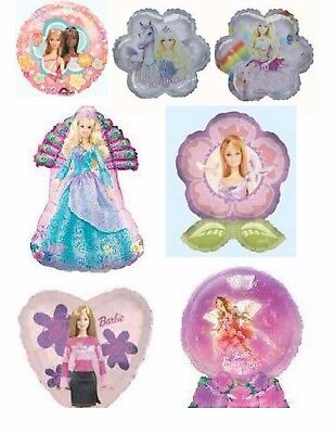 Barbie Glamour Doll Foil Balloons Party Ware Decoration Novelty Gift - Barbie Balloons