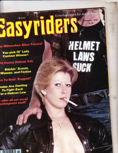 EASYRIDERS MAGAZINE------FEBRUARY 1978---DAVID MANN
