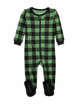Leveret Baby Boys Girls Christmas Footed Pajamas Sleeper 100