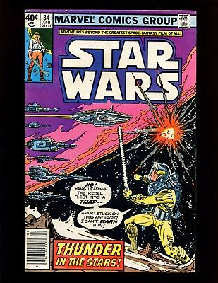 Star Wars #34 (News) FN Infantino Han Solo Chewie Luke Skywalker Princess Leia
