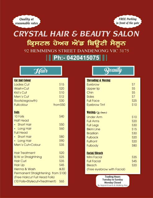 Hair And Beauty Salon Hairdressing Gumtree Australia Greater