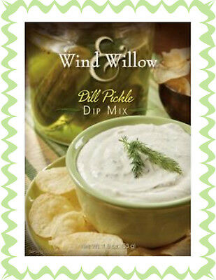 WIND & WILLOW 1 Pack Dill Pickle Dip Mix~For Chips, Veggies, Crackers, Topper - Dip For Crackers