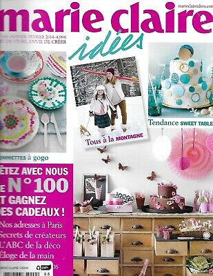 Marie Claire Ideas Sweet Trend Tables Deco Decor Sticker Party Themes Recipes - French Decorating Ideas