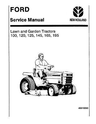 Ford LGT12 (H), LGT14 (H), LGT17 (H), LGT18H Lawn Tractors Service Manual + -