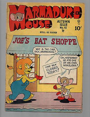 Marmaduke Mouse #10 1948 golden age comic book VG/FN