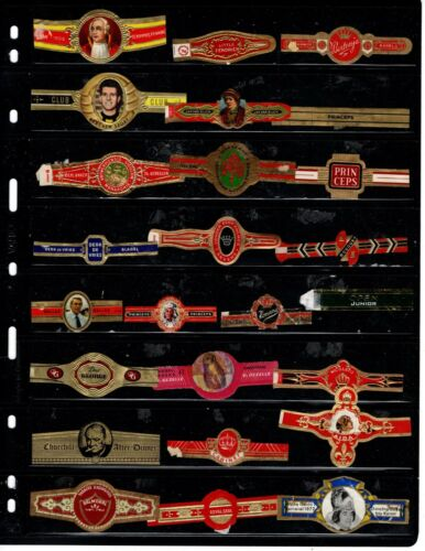 CIGAR BANDS..    .. ALL DIFFERENT ( OFFER (7020)*