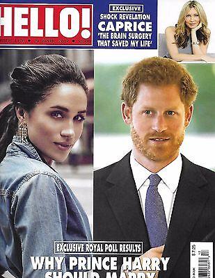 Hello Magazine Prince Harry Queen Elizabeth Princess Diana Caprice Bourret