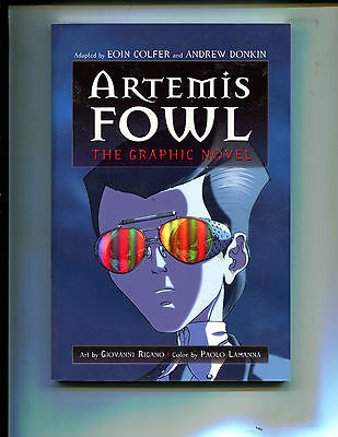 Artemis Foul  The Graphic Novel Tpb  8 0  1St Edition