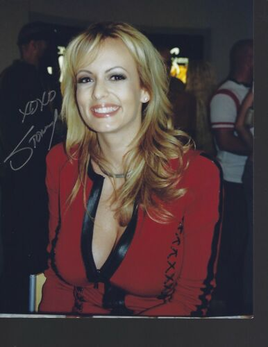"""STORMY DANIELS-""""Busty Adult Star""""-Auth. Autographed Photo @@"""