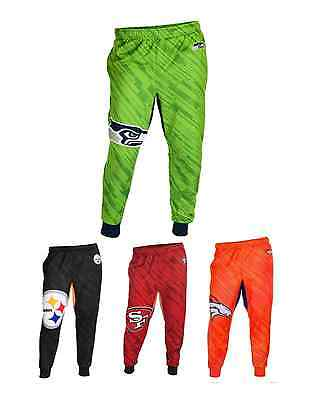 NFL Football Team Logo Polyester Mens Jogger Pants - Pick Your Team!