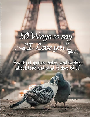 50 Ways to Say I Love You: Gifts for Her & Gifts for Him