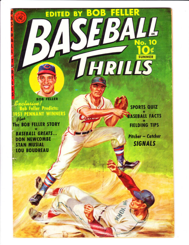 Baseball Thrills   No.10     : 1951 :     : #1 Of Series! :