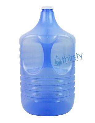 3 Gallon Water Bottle Polypropylene Plastic Drinking Jug H2O Aqua Dispenser USA