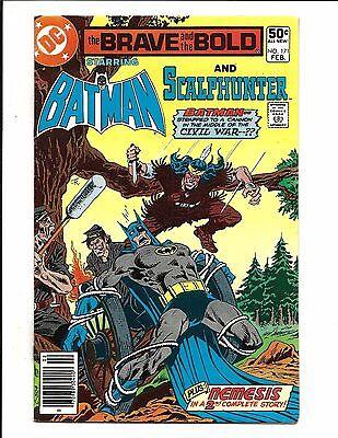 BRAVE AND THE BOLD # 171 (DC Comics, BATMAN and SCALPHUNTER, FEB 1981), NM-