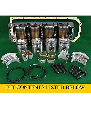 Pok466 N844lt-d Shibaura Major Overhaul Engine Kit 410 Dx55 Sr175 Sv185 St450