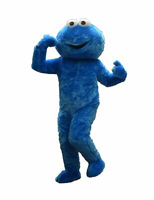 RENT COOKIE MONSTER Adult Mascot Costume Character Halloween Party Birthday Boys (Rent Character Costumes)