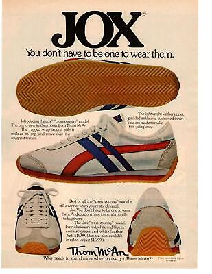 1976 Jox Tennis Shoes