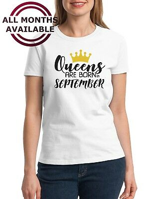 QUEENS Are Born in November #4 Shirt Birthday Gift T-Shirt Mothers Day Bday - Birthday T Shirts