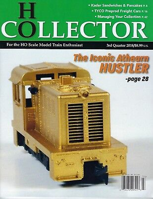 HO COLLECTOR: 3rd Edition / Issue  - (3rd Qtr., 2018) Brand NEW Magazine