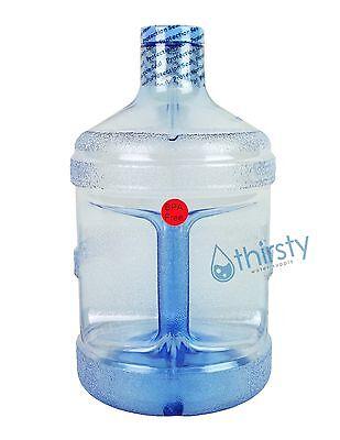 BPA FREE 1 Gallon Reusable Plastic Water Bottle Jug Containe