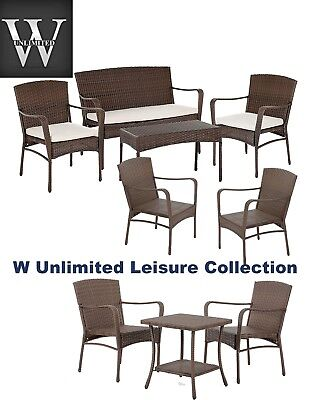 W Unlimited Leisure Collection Garden Patio Furniture Sets-PICK YOUR SET!!