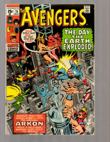 Mighty Avengers # 76 FN Marvel Comic Book Ultron Hulk Thor Iron Man Vision RB27