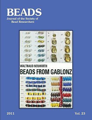 BEADS 23 Glass Beads Gablonz, Bohemia Czech Bead Industry, 100s Color Illustrat.