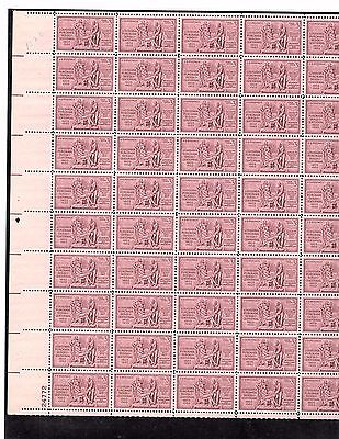 SCOTT#1020,3C STAMP LOUISIANA PURCHASE SHEET OF 50 MNH OG