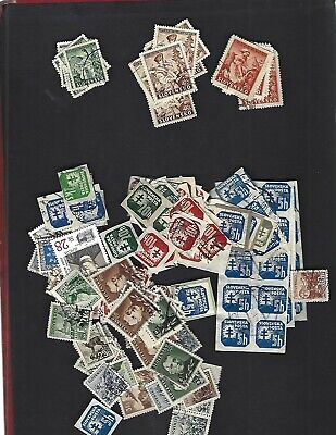 Slovakia sc#40-2 x6 (1939) Complete Used + Nice lot