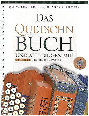 Michlbauer - Das Quetschn Buch - 60 Volkslieder&Schlager - inkl. CD - Steirische