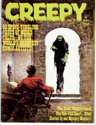 Creepy #3 Very Fine Warren Magazine