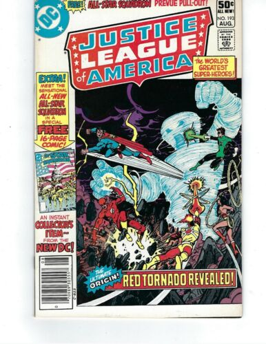 Justice League Of America #193 - Red Tornado Revealed!