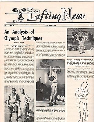 Ironman Lifting News Weightlifting Magazine Analysis Of Olympic Techniques 1 61