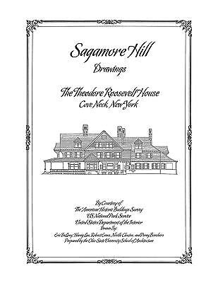 Sagamore Hill Drawings, Home of Teddy Roosevelt - Architectural Drawings - Roosevelt Sagamore Hill