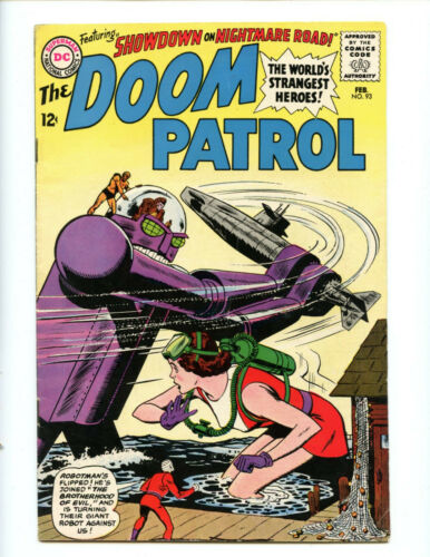Doom Patrol 93 Brotherhood of Evil (hmm)